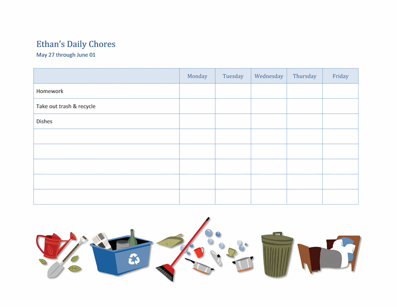 kids activity schedule template kids are really very active and