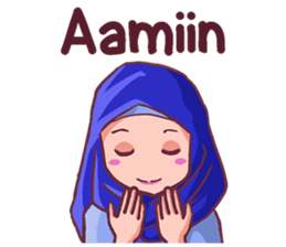 Euis Geulis Hijab Girl Sunda Line Stickers Line Store Cartoon Jokes Cute Love Cartoons Cute Cartoon Pictures
