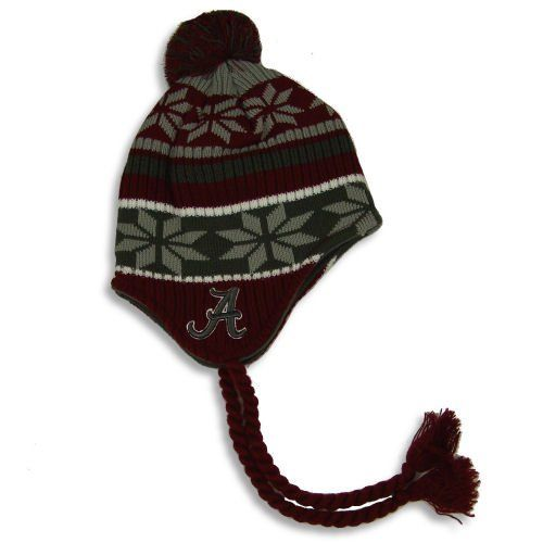 new arrival ac55c dff5f ... good alabama crimson tide official embroidered snowy toboggan knit cap  hat by ncaa. 11.94.