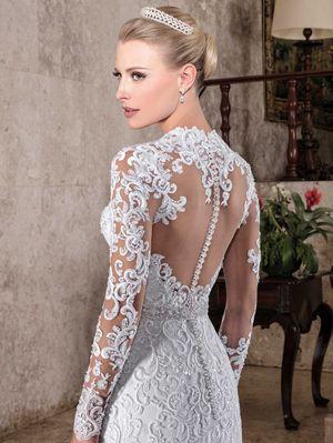 Vestido de noiva sereia 880dff4bd667