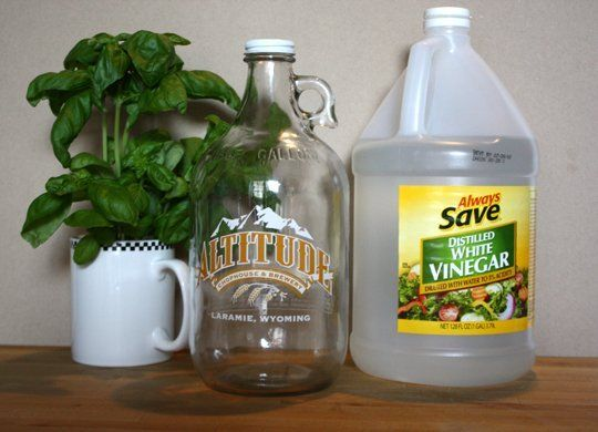 How To Make Scented Vinegar Rinses