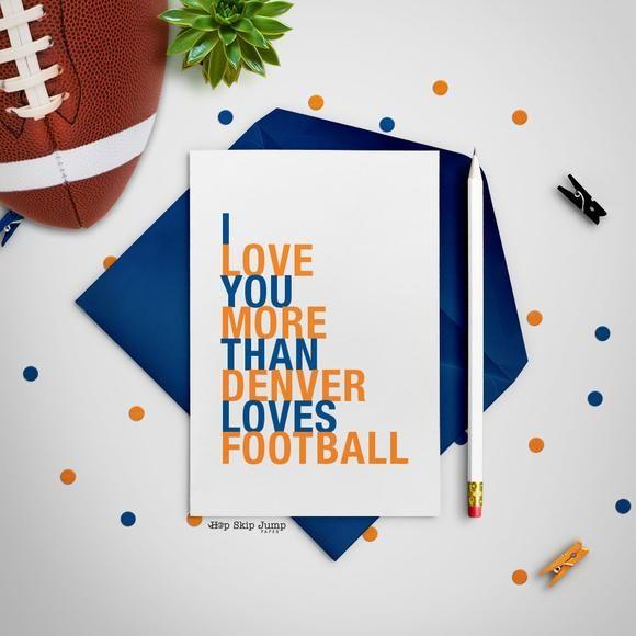 I love you more than denver loves football greeting card shop i love you more than denver loves football greeting card shop online m4hsunfo