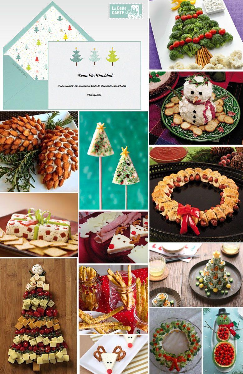 Recetas Para Cenas De Navidad Aperitivos E Invitaciones Para Tu Fiesta Cenas De Navidad Aperitivos De Navidad Recetas De Navidad