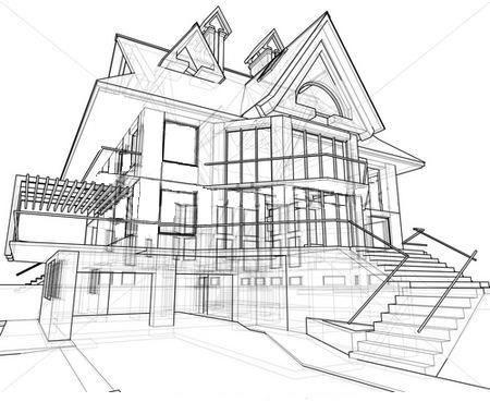 Pin By Stephan Aseron On Abc Dream House Drawing Simple House Drawing House Drawing