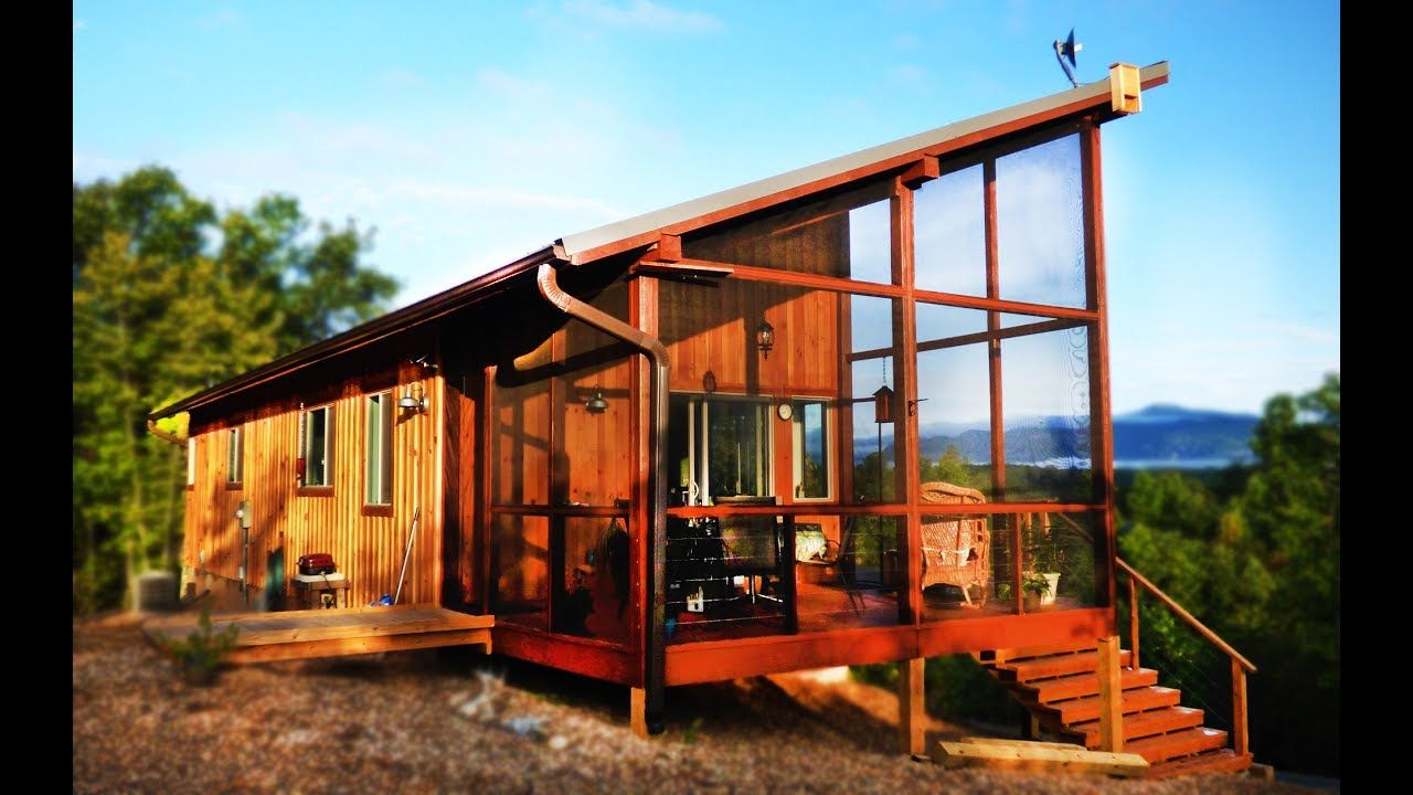 A Modern Cabin In The Hills Simply Home Small House Design Small House Design Small House Modern Cabin