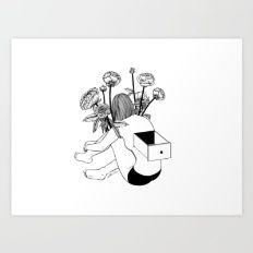Beautiful Emptiness Art Print