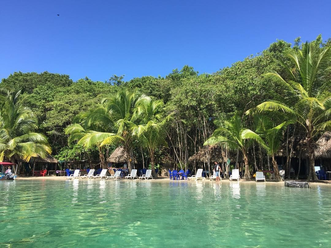 Playa de las Estrellas Bocas del Toro Panamá.