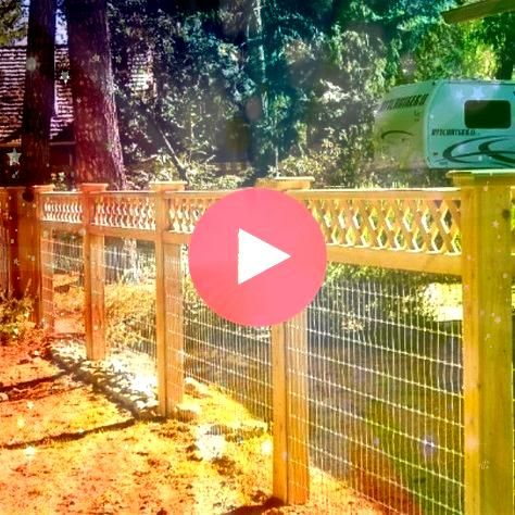 Awesome Hog Wire Fence Design Ideas For Your Backyard  17 Awesome Hog Wire Fence Design Ideas For Your Backyard 17 Awesome Hog Wire Fence Design Ideas For Your Backyard E...