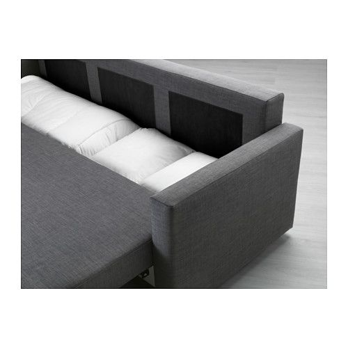 Modern Sectional Sofas IKEA FRIHETEN Sofa bed Skiftebo dark gray Easily converts into a bed Large practical storage space under the seat