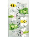 Frog Bee Dragonfly Bathroom Shower Curtain Hooks Mileycyrus