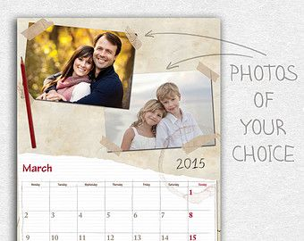 Personalized Calendar Are A Great Gift Giving Idea Personalised