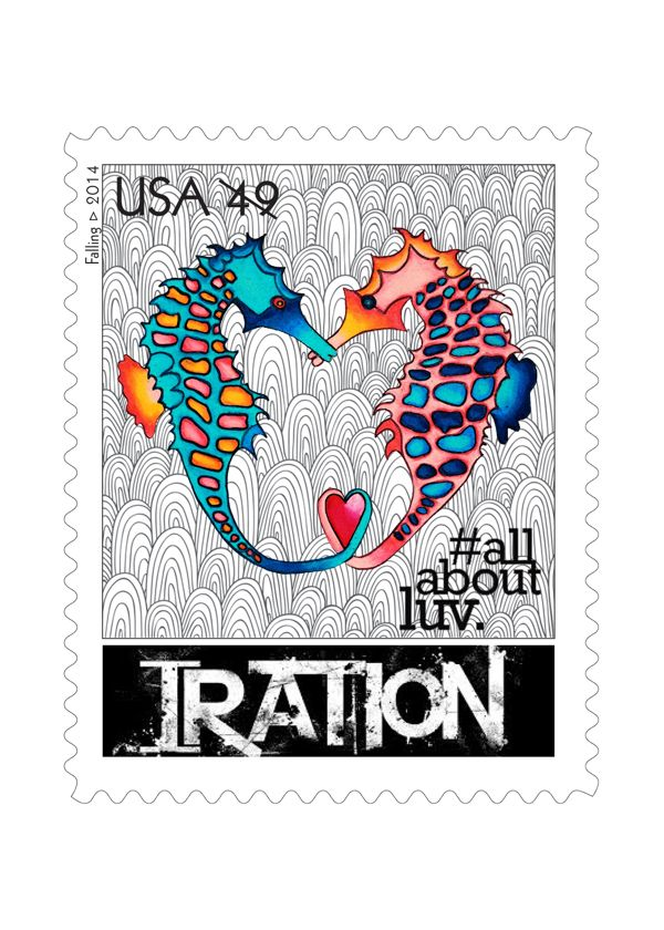 allaboutluv Iration Stamp Collection on Behance | Irators - We Luv ...