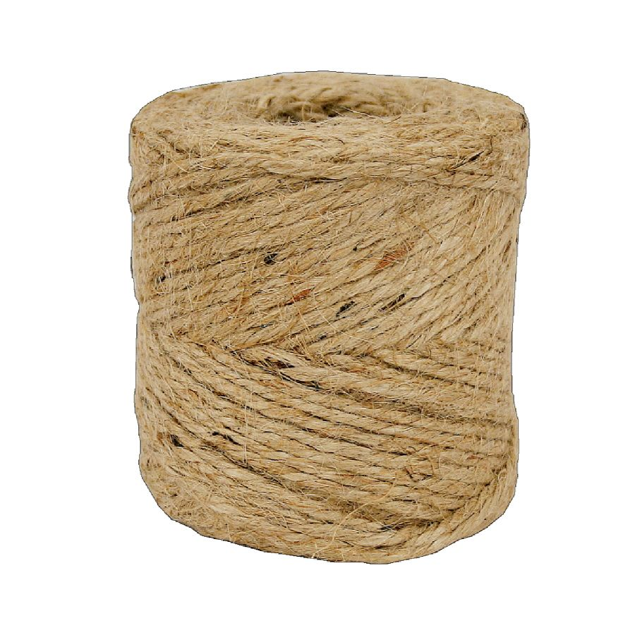 Lehigh 1 16 In X 190 Ft Natural Twisted Jute Rope Jute Rope Jute Jute Twine