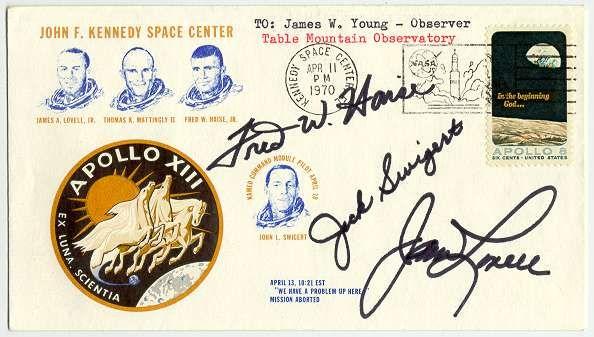 Apollo 13 Astronauts Handwriting Graphology Signatures