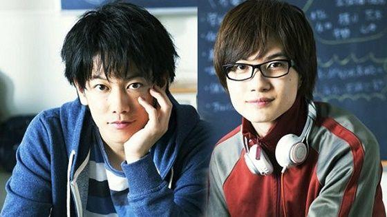 Takeru Satoh and Ryunosuke Kamiki in Bakuman