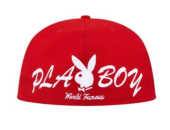 6ebf5029 Box Logo 59Fifty Fitted Cap by NEW ERA x SUPREME x PLAYBOY | /Fitted ...
