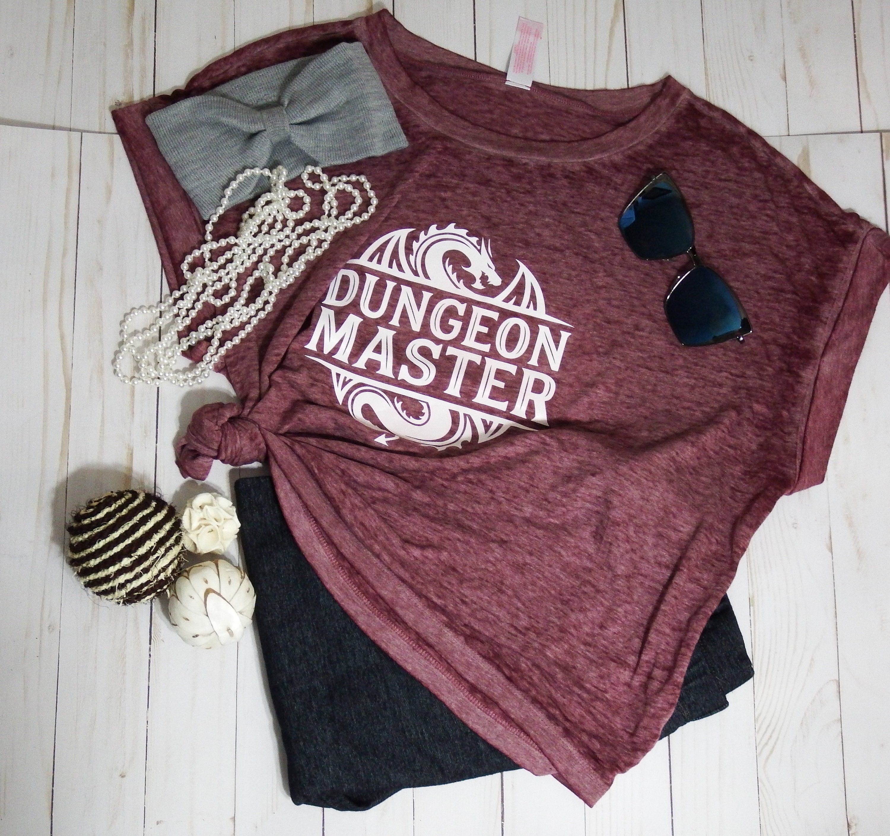6ba951dc306a Women's Dungeon Maters D&D Dungeon and dragons T shirt size XL by  Simply2cutecreations on Etsy