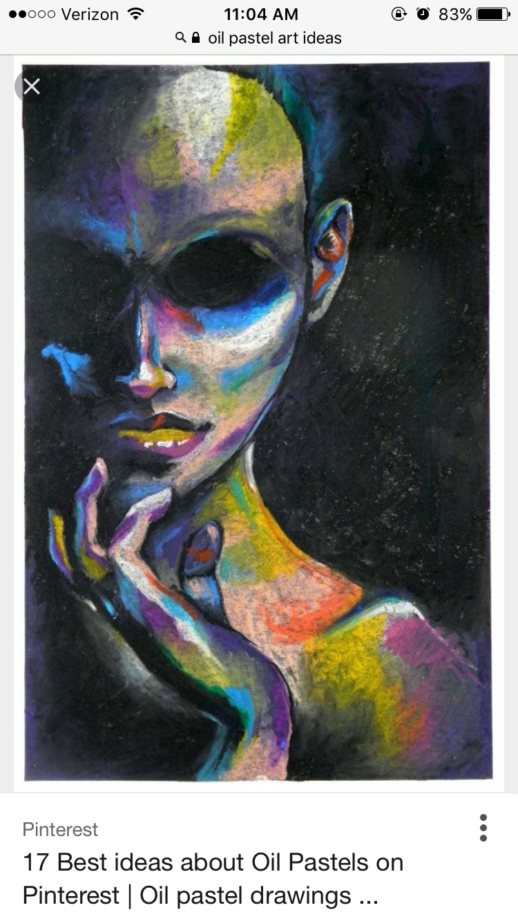 Pin by alexis patterson on drawing chalk pastel art oil pastel art oil pastel paintings