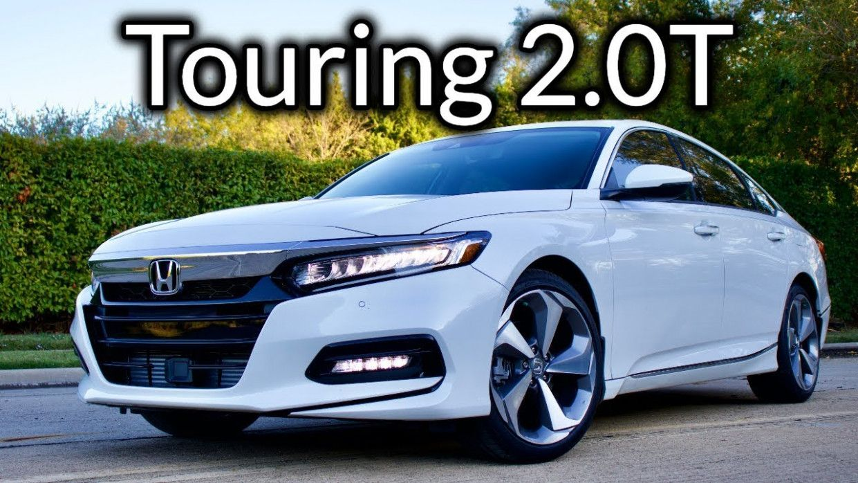 6 Image 2020 Honda Accord Touring in 2020 Honda accord