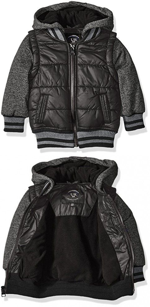 c30f4e5e0 Urban Republic Baby Boys  Infant Heavyweight Polyester Puffer Jacket ...