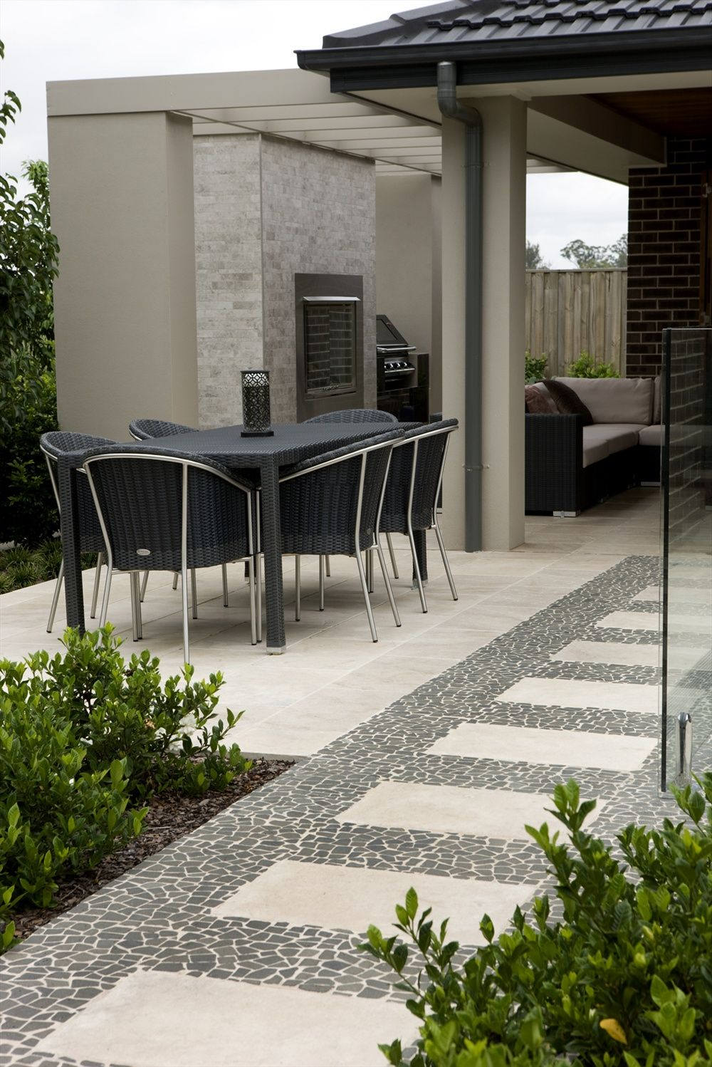 What Do You Think Of This Outdoor Tile Idea I Got From Beaumont Tiles Check Out More Ideas Here Tile Com Au Roomideas Aspx Backyard Patio Patio Outdoor Tiles