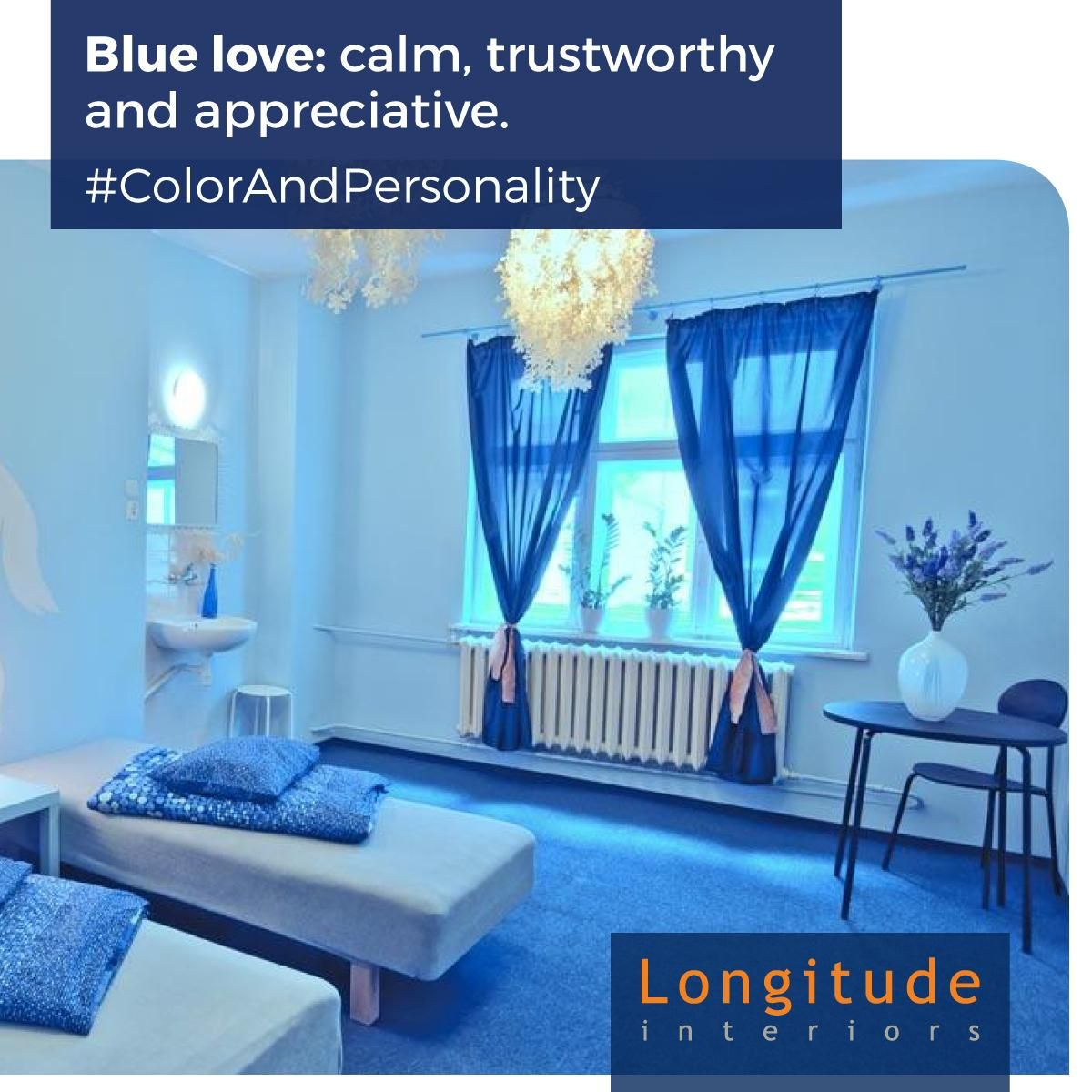 If You Are Calm And Trustworthy Then Blue Is The Color For Your Personality Call In A Free Consultation At 9008001204
