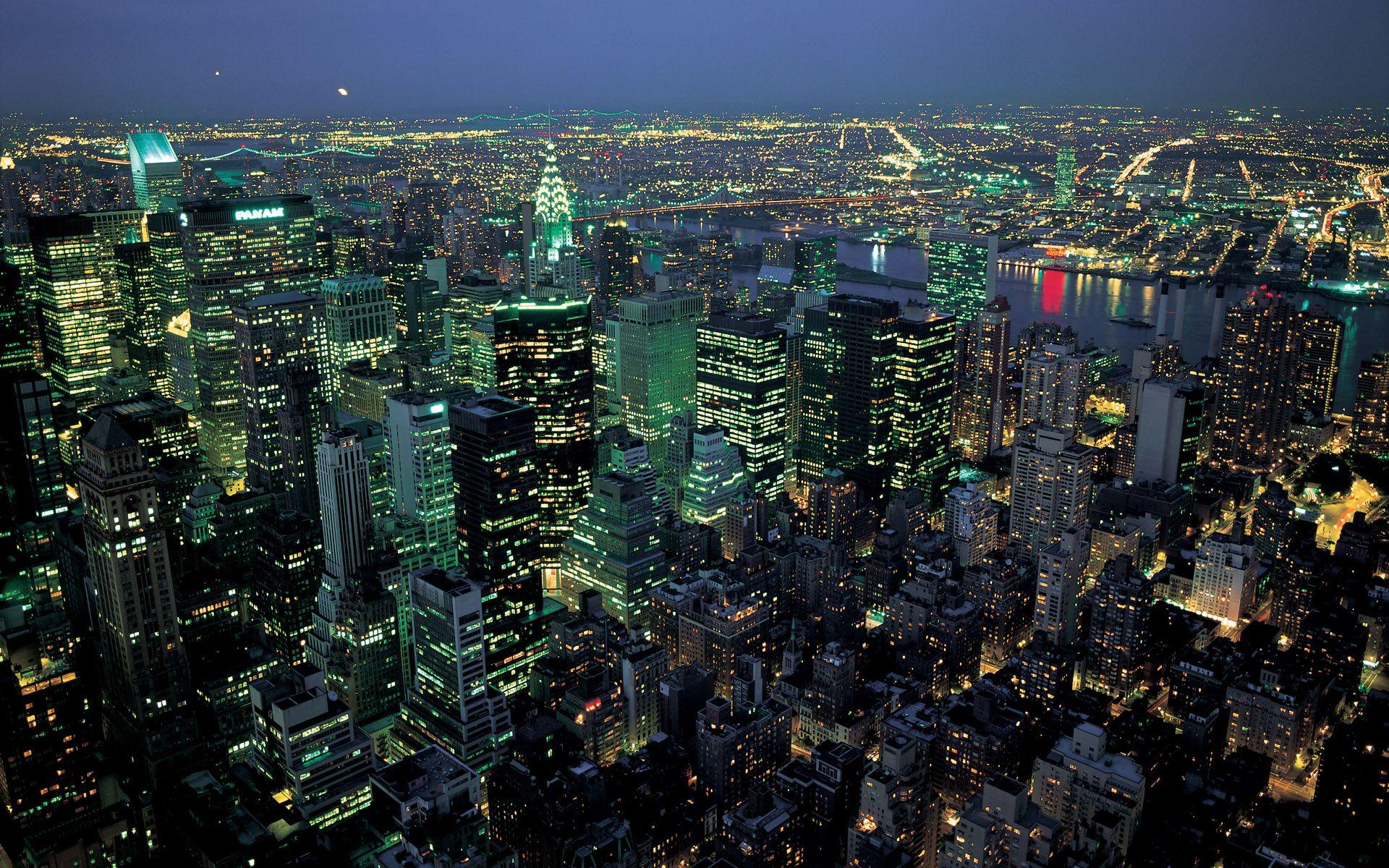 80's New York (Hint Pan Am Building) New york night