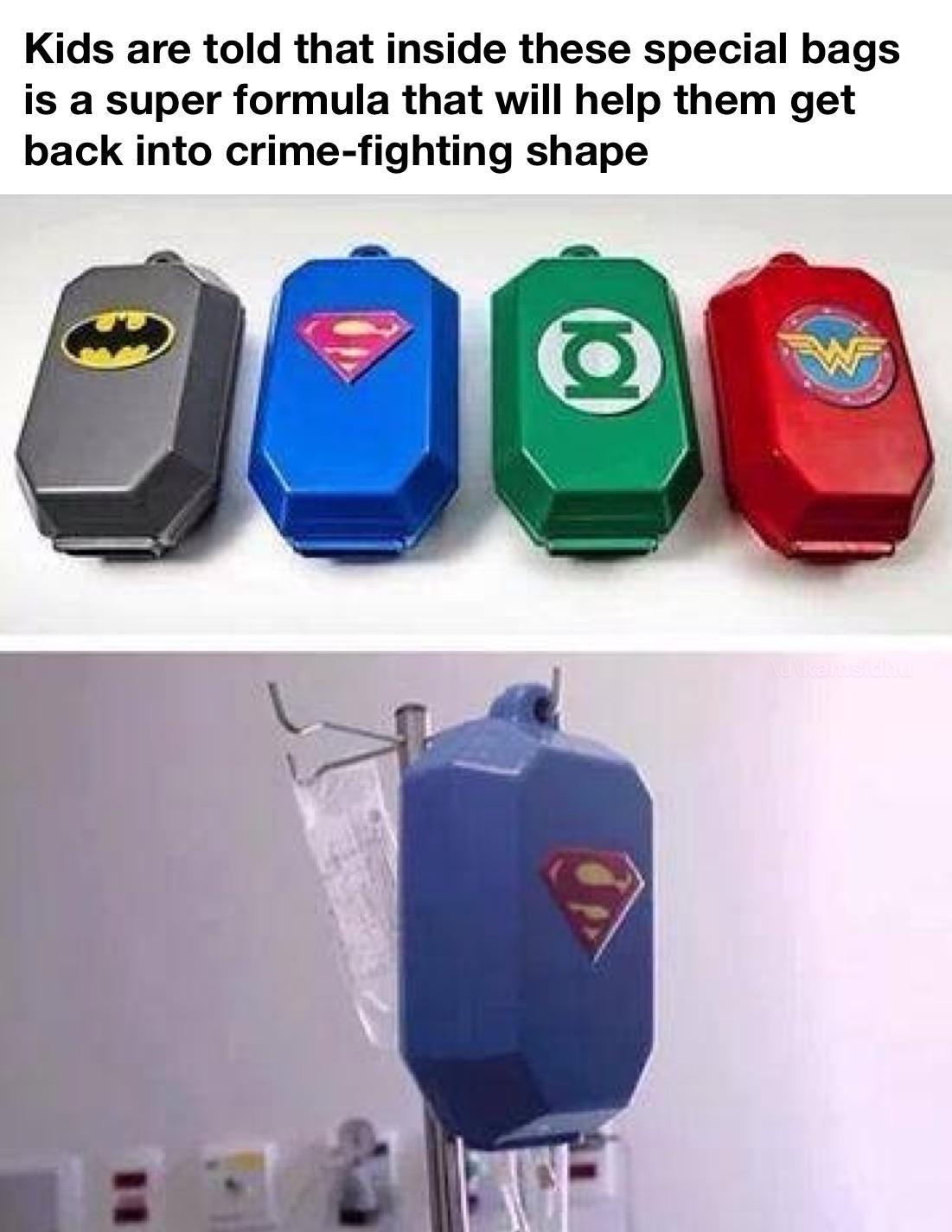 Superheroes in making at childrens hospitalhttpsiredd