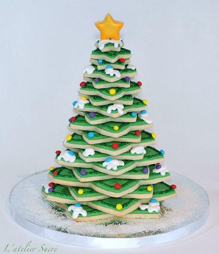 Christmas Tree Decoracion De Galletas Navidenas Dulces De
