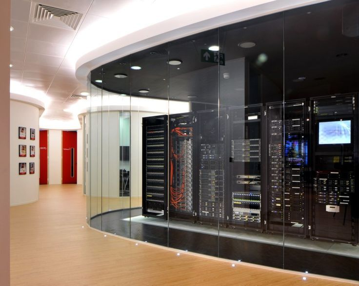 Server Room Design : Office tour rackspace offices hayes seo