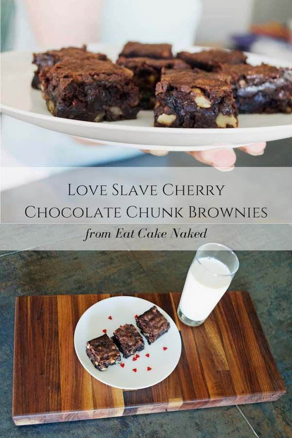 Balsamic Cherry Chocolate Chunk Brownies - A rich and indulgent brownie recipe, it uses cocoa powde