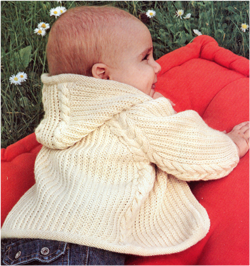 Вязание кофточки для новорожденного спицами описание и 24