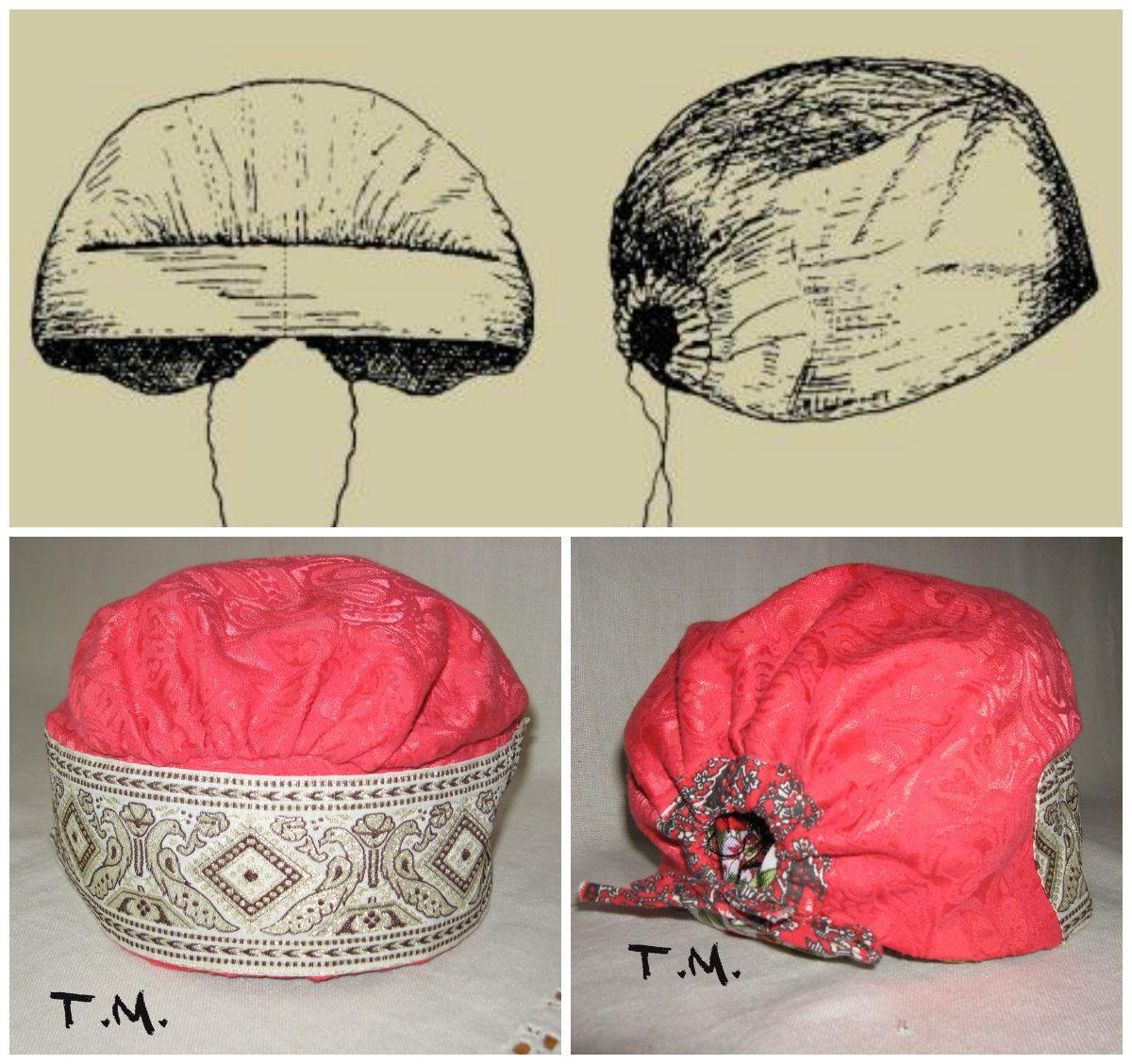 Повойник - старинный русский будничный головной убор замужних женщин.