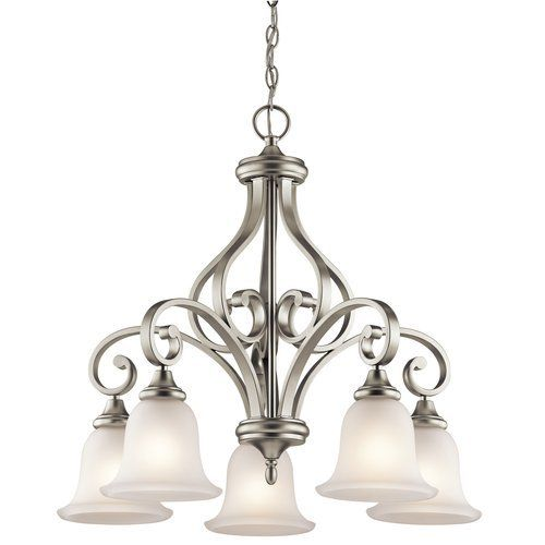 Shop kichler lighting 43158 monroe 5 light downlight chandelier at lowes canada find our selection of chandeliers at the lowest price guaranteed with
