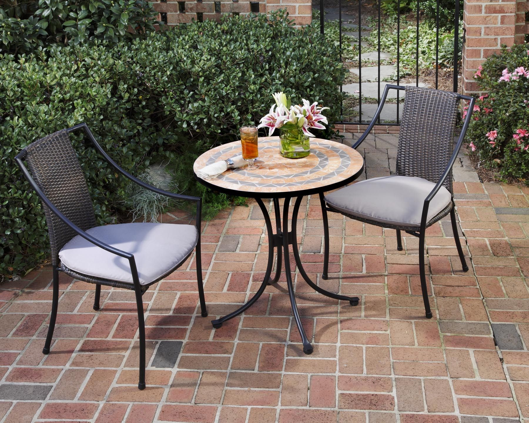clearance lowes table sets outdoor bistro for full dining sale bar height home of top chairs furniture patio set size and bars depot high