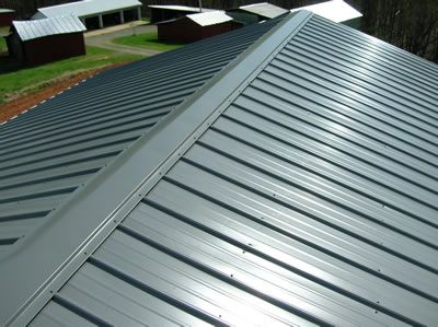 Metal Roofing Installation Of Metal Roof Complete Home