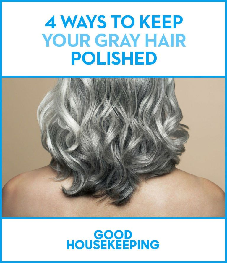 Gray Hair Color Tips - How to Care for Gray Hair | Hair ...