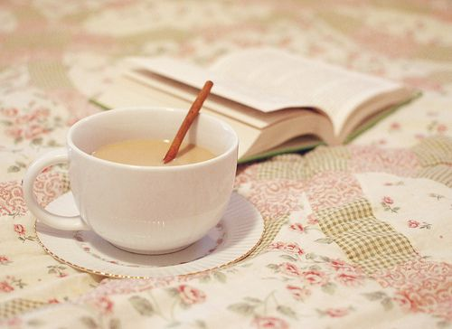 A Cup of Tea and a Book