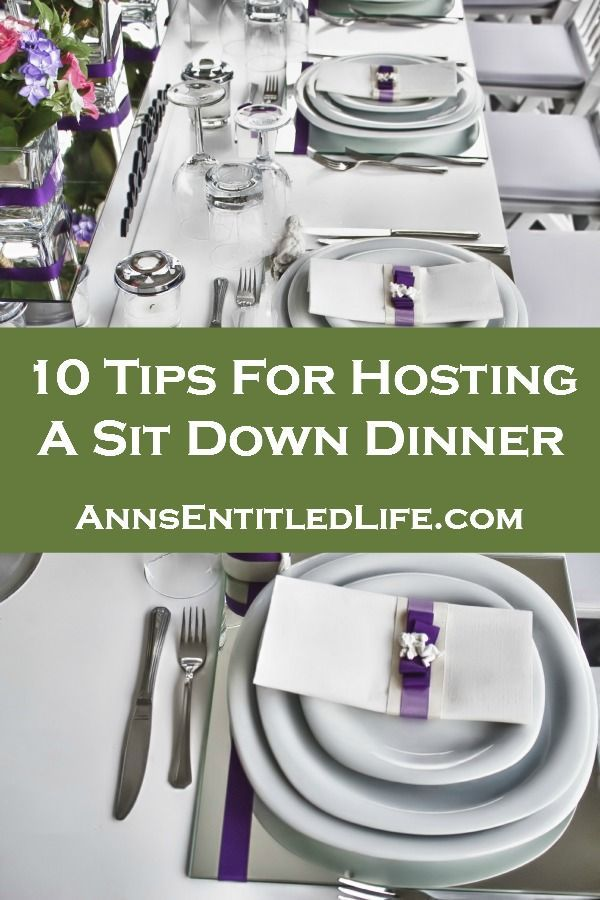Christmas Party Hosting Ideas Part - 44: 10 Tips For Hosting A Sit Down Dinner Http://www.annsentitledlife. Dinner  Party MenuChristmas ...