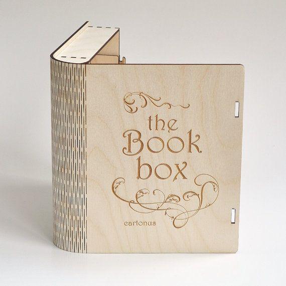 Book En Bois Box Avec Loquet Coulissant De Boulon 3 Types De