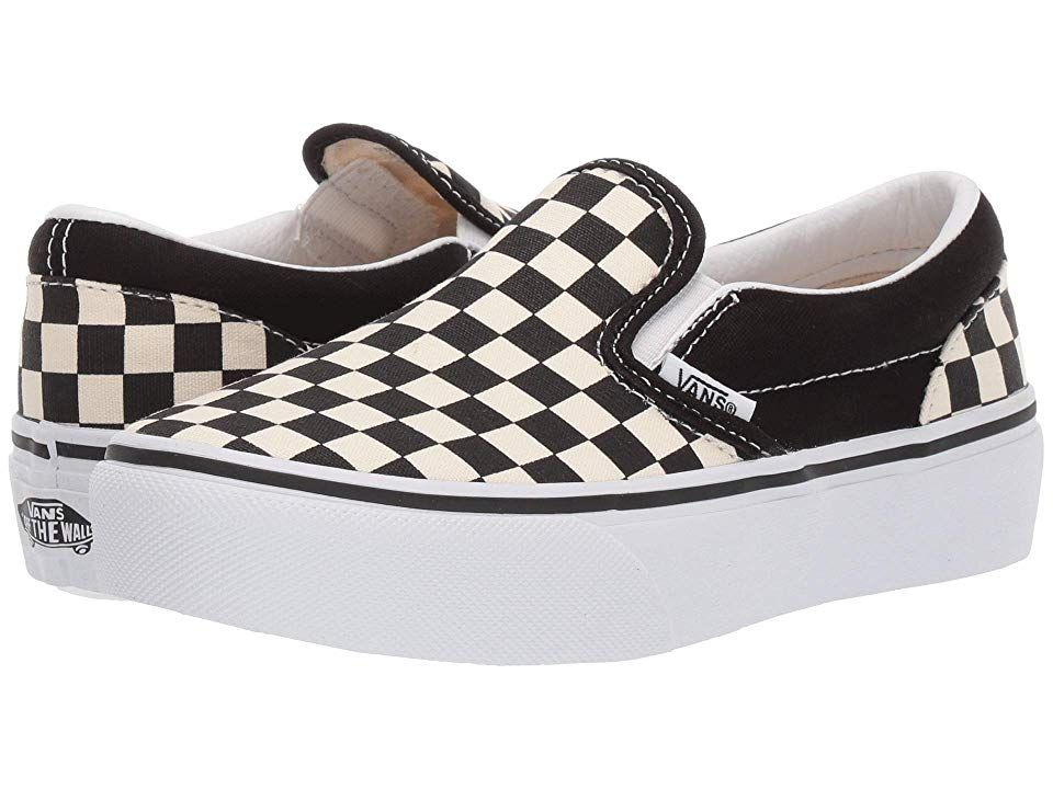 vans for girls checkered