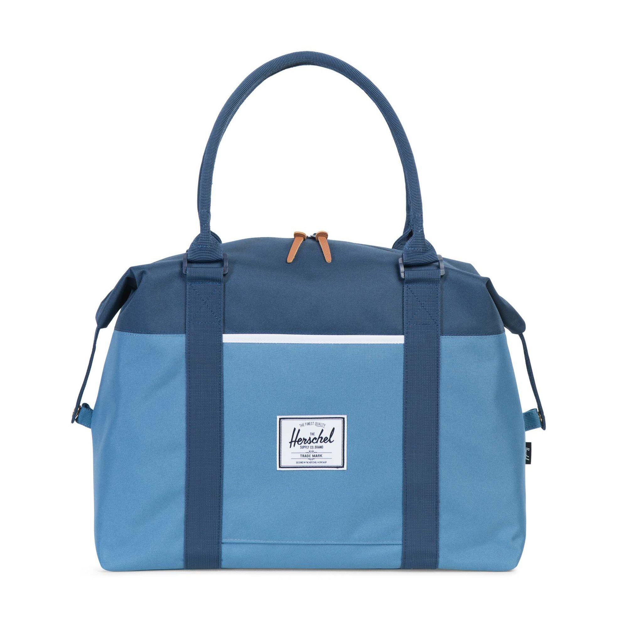 STRAND 600D POLY CAPTAIN'S BLUE/NAVY DUFFLE BAG - $64.99