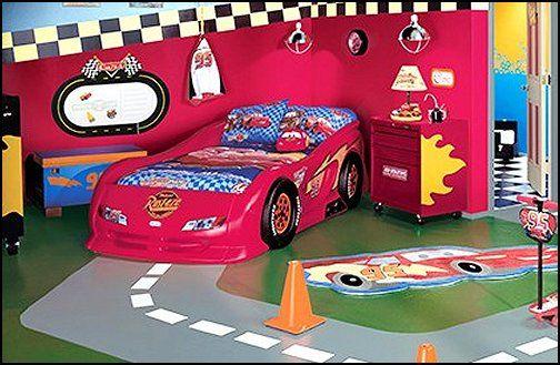 Decorating Theme Bedrooms Maries Manor Car Beds Car Racing Theme Bedrooms Theme Beds Car Beds Race Car B Car Themed Bedrooms Boy Decor Boys Bedrooms