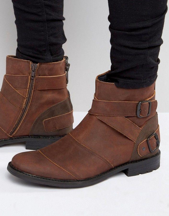 74c7e25cb3 ALDO Aldo Aceriria Leather Biker Boot Mens Biker Boots, Mens Boots Fashion,  Winter Boots