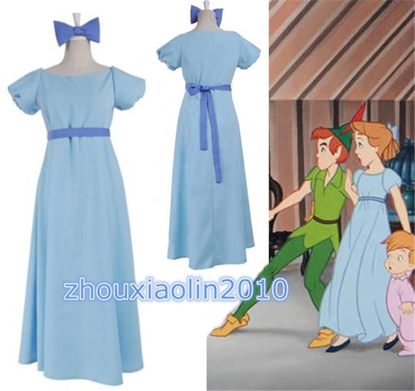 6fb6b3526c8c1 Details about Film Peter pan wendy Rachael Cosplay costume party ...