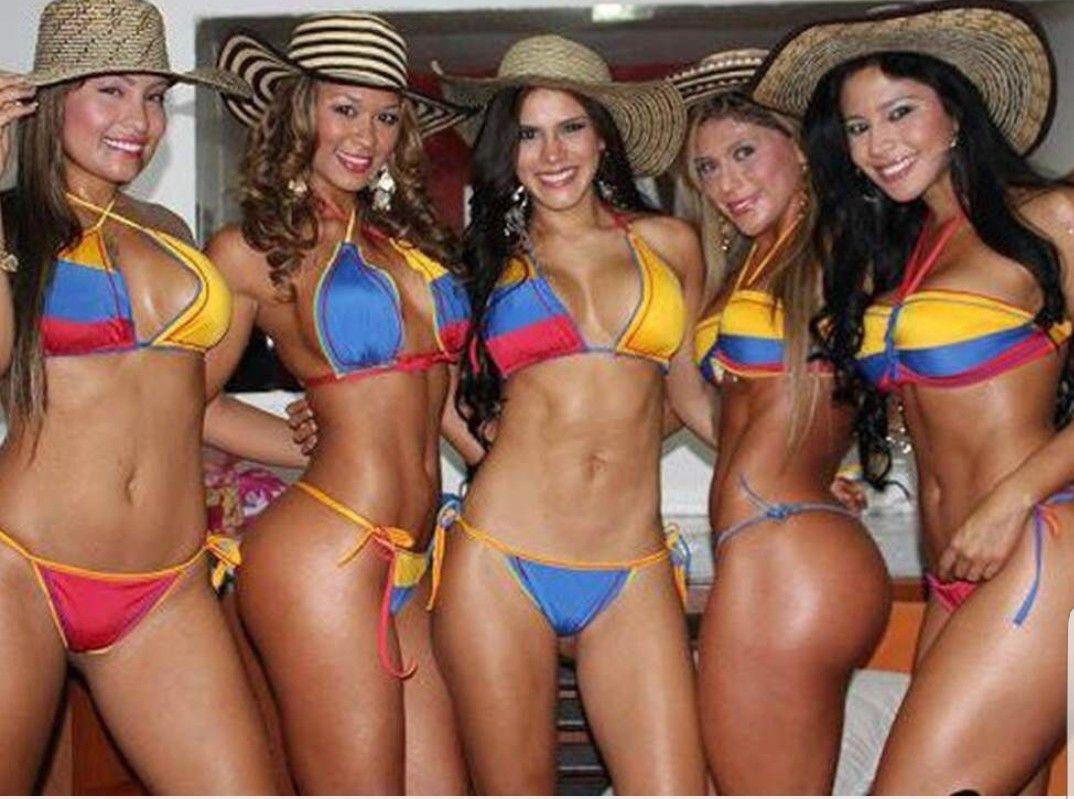 中南米コロンビア美女のエロ画像!胸やお尻も大きい魅惑的なスタイル
