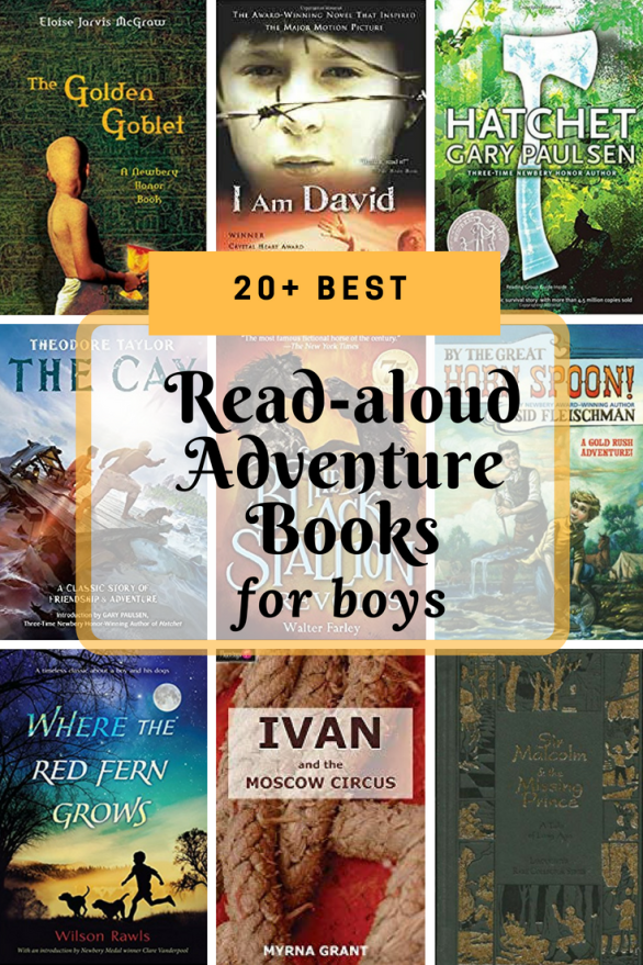 Best Read Aloud Adventure Books For Boys Unschooling
