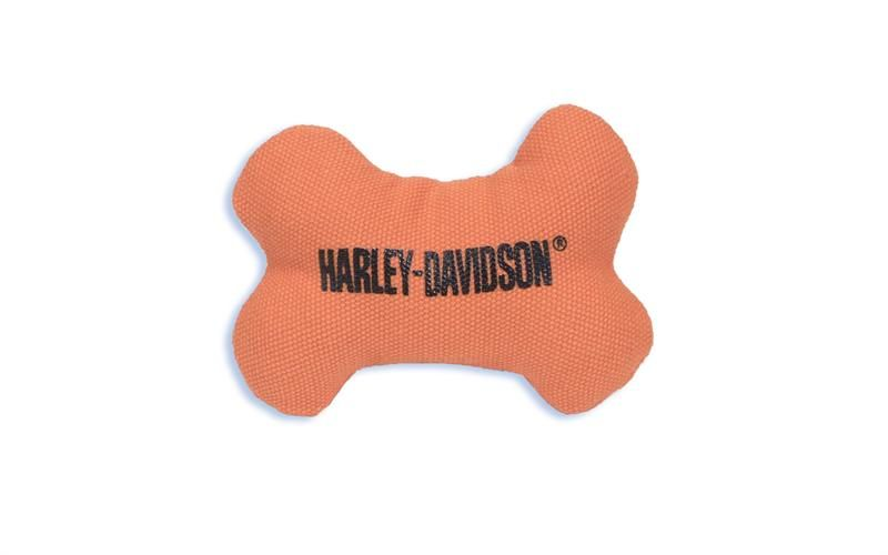 Harley Davidson Pet Petite Canvas Dog Bone Toy H8300 H K03dog