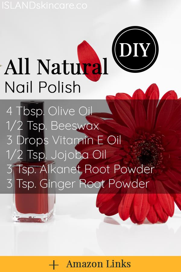 DIY – All Natural Nail Polish