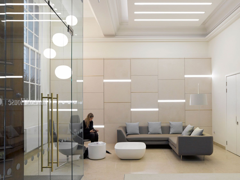 On Line Interface Carpet Tile Simple Modern Office Design